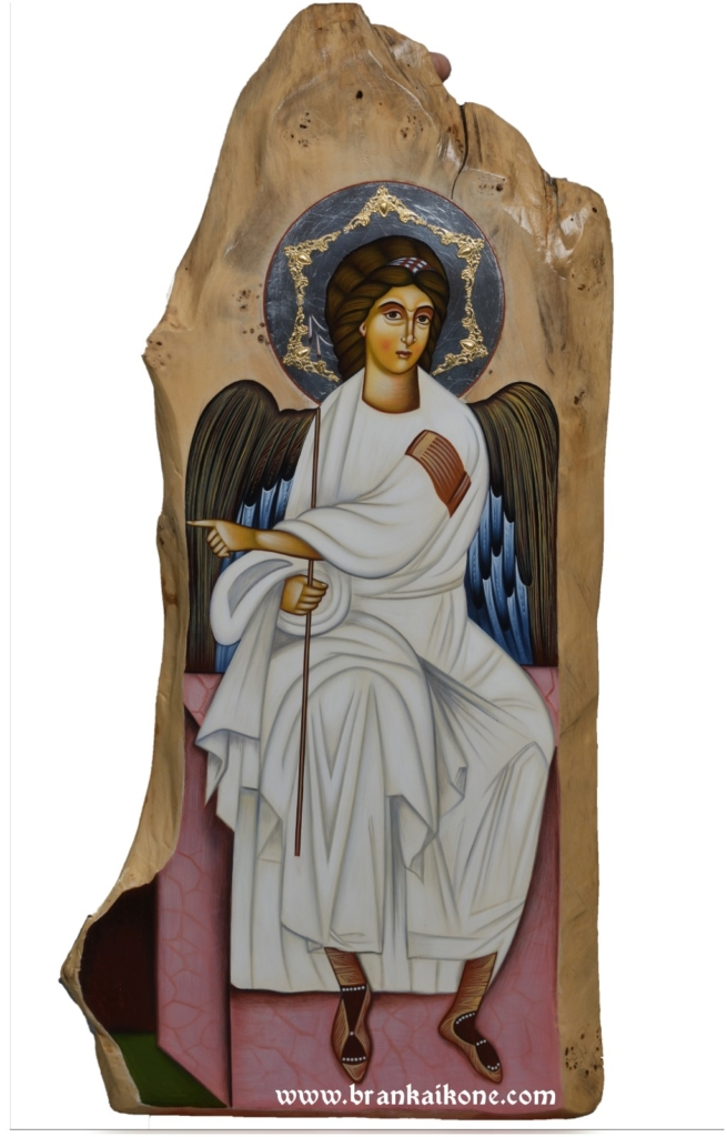 Beli Anđeo - Pravoslavne ikone