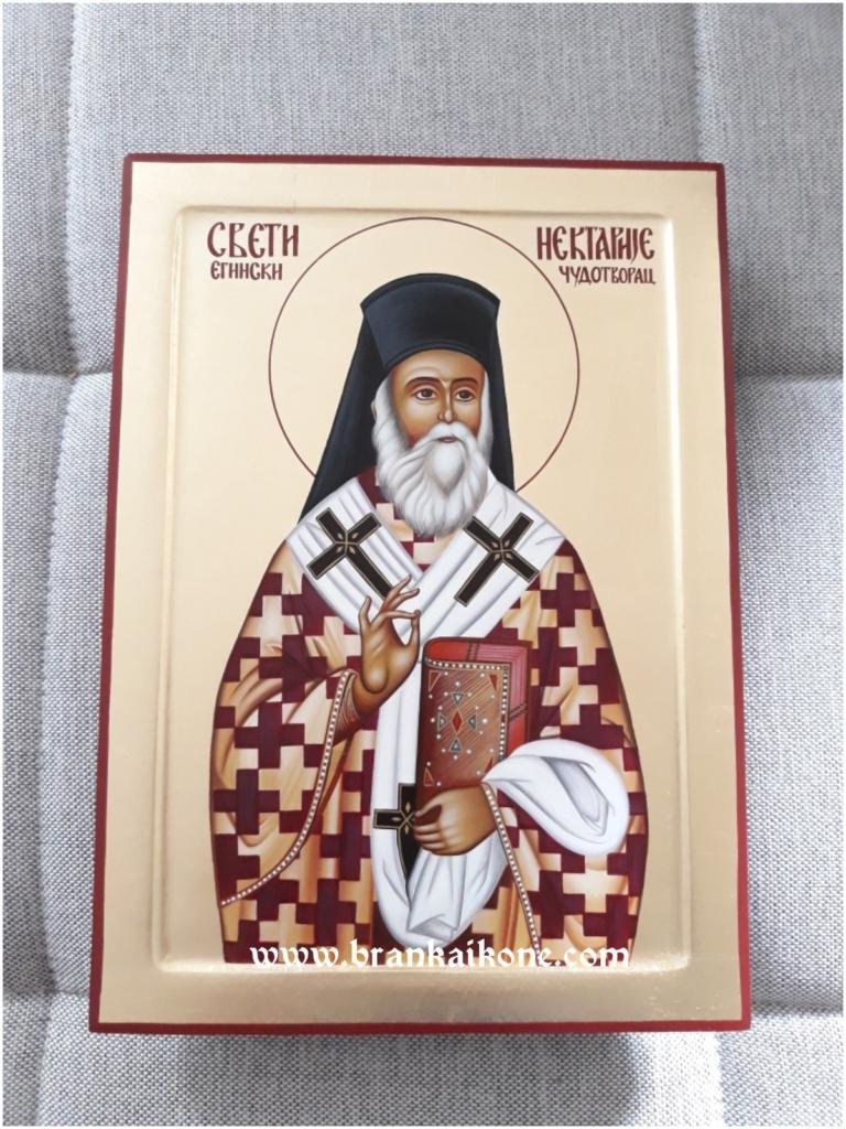 Sveti Nektarije Eginski - Pravoslavne ikone